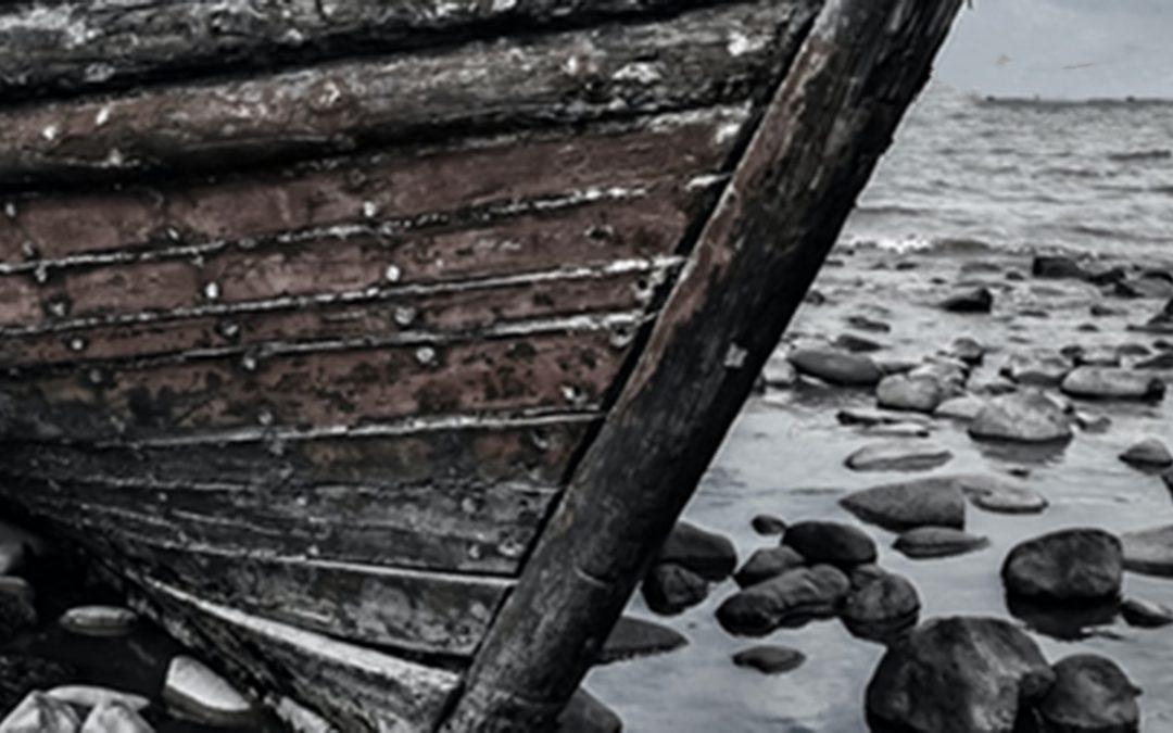 Muerte de un Caballero que quiso echarse a la mar